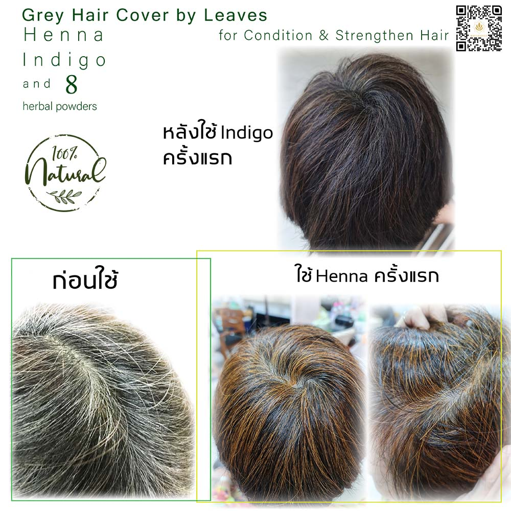 Grey Hair Cover by Henna and Indigo