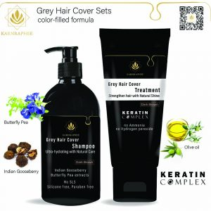 Grey hair Cover sets
