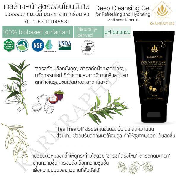 Deep Cleansing Gel 50 ml
